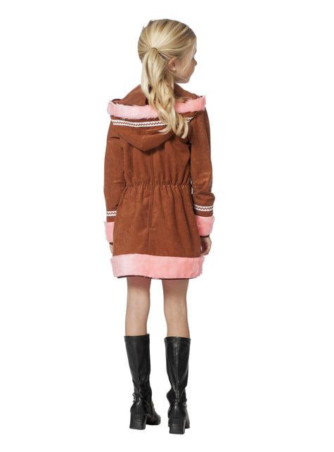 Pink eskimo costume for girls
