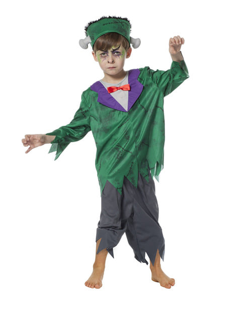 Fato de Frankenstein para menino
