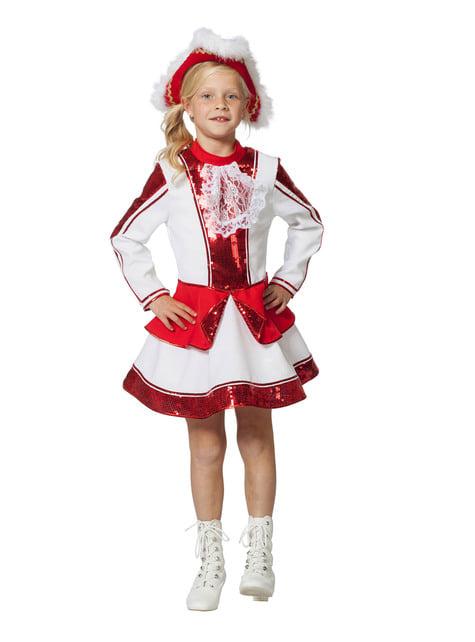 Disfraz de majorette elegante para niña