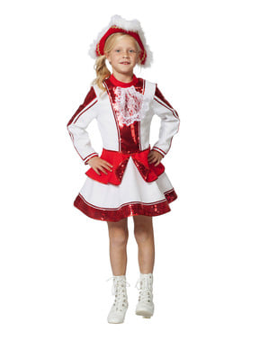Elegant majorette costume for girls
