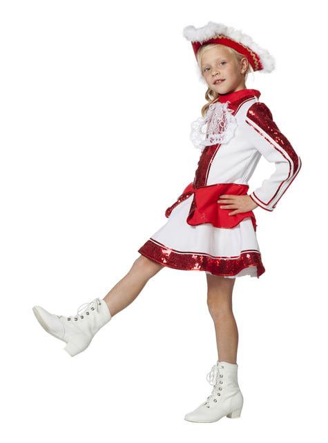 Disfraz de majorette elegante para niña - niña