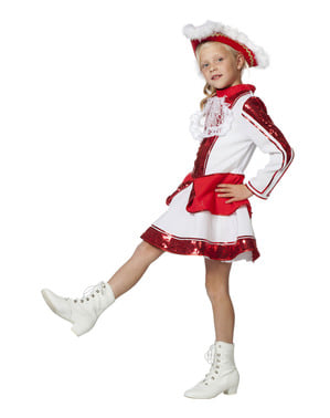 Elegant majorette kostume til piger