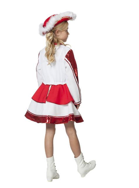 Disfraz de majorette elegante para niña - original