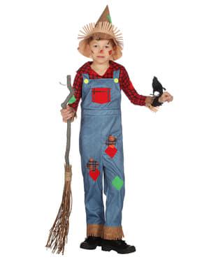 Chlapecký kostým strašák