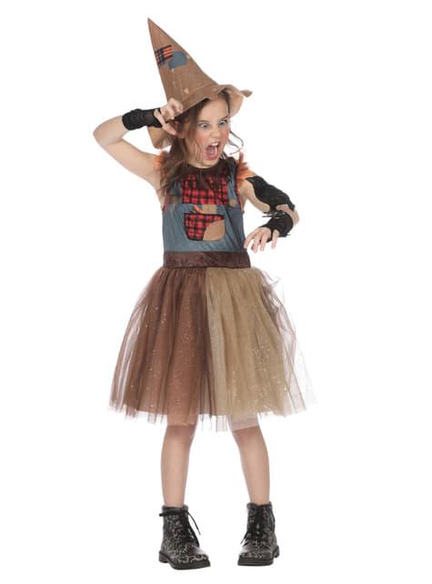 Disfraz de Espantapajaros para niña
