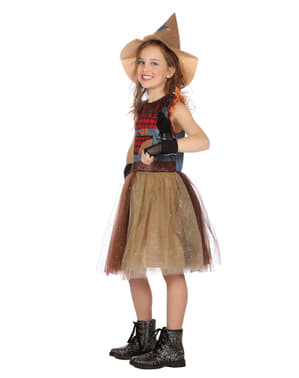 Dívčí kostým strašák