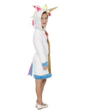 Disfraz de unicornio dorado para niña
