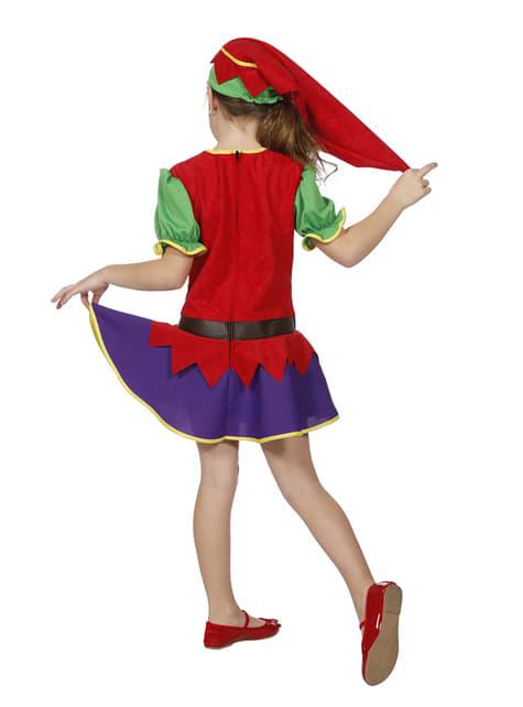 Disfraz de duende para niña - original