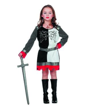 Strój rycerza dla dziewczynek
