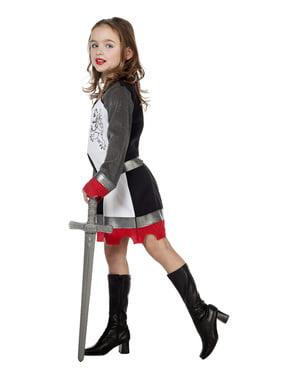 Ridder kostume til piger