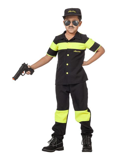 Disfraz de policía holandés para niño