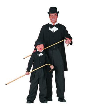 Charles Chaplin kostume til drenge