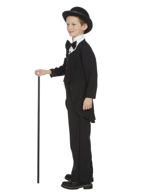 Disfraz de Charles Chaplin para niño - infantil