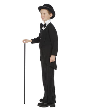 Charles Chaplin kostuum voor jongens