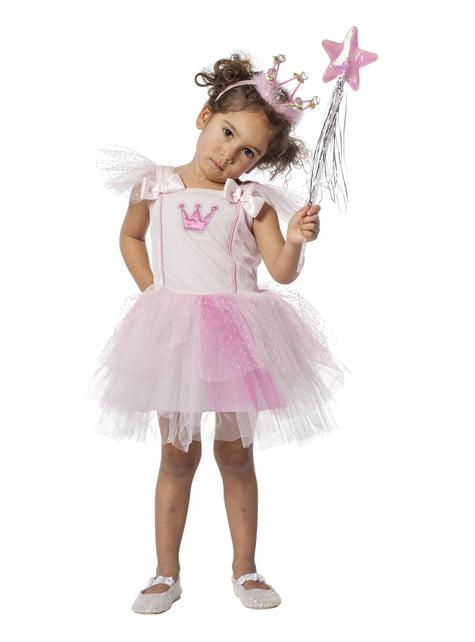 Déguisement danseuse rose fille