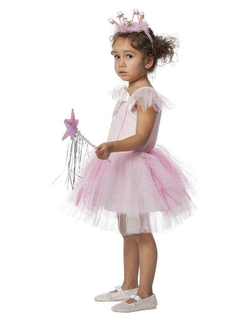 Disfraz de bailarina rosa para niña - niña