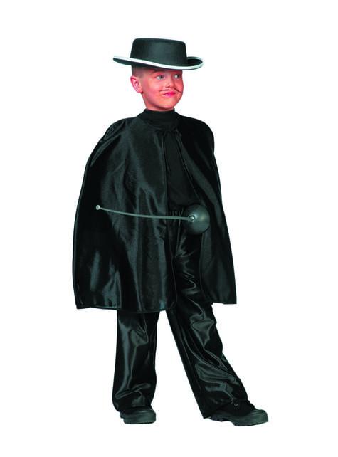 Zorro cape voor jongens