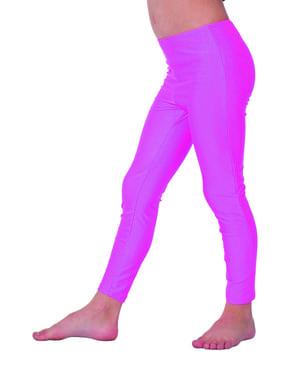 70's pink leggings for girls