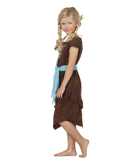 Deluxe Indian costume for girls