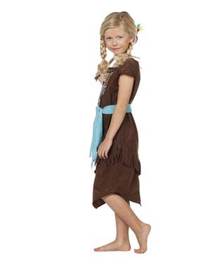 Disfraz de india deluxe para niña