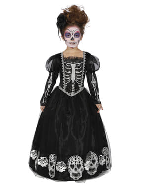 Costume Dia de los Muertos per bambina
