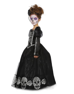 Day of the Dead kostyme til jenter