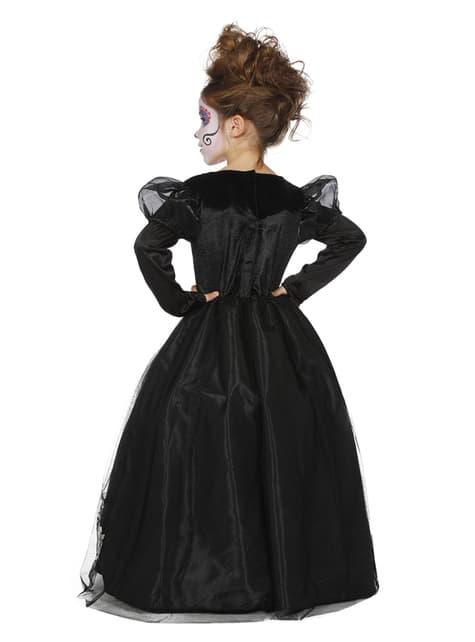 Disfraz de Catrina Día de los Muertos para niña - original