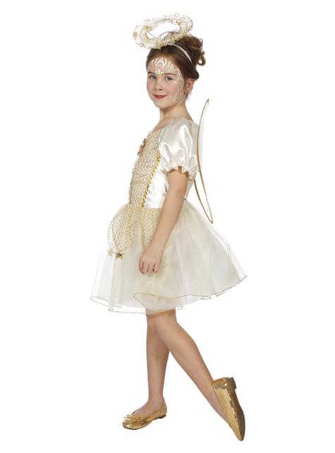 Disfraz de Ángel para niña - niña