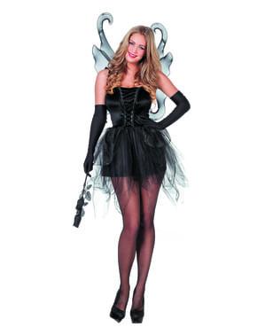 Dámský kostým motýl černý