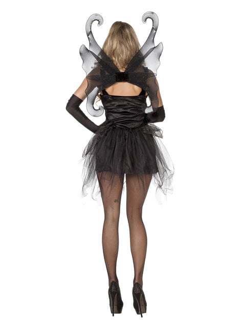 Disfraz de mariposa negra para mujer - original