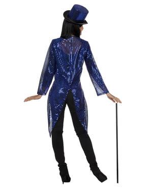 Dompteurin Kostüm blau für Damen