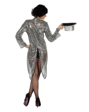 Kostum penjinak abu-abu untuk wanita