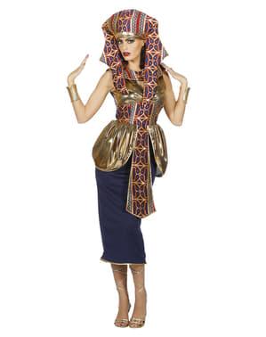 Ägyptische Königin Kostüm gold für Damen