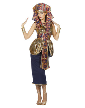 Gold Egyptian queen costume for women