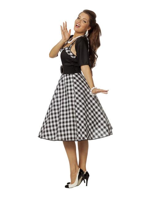 Costum Rock & Roll anii 50 pentru femeie