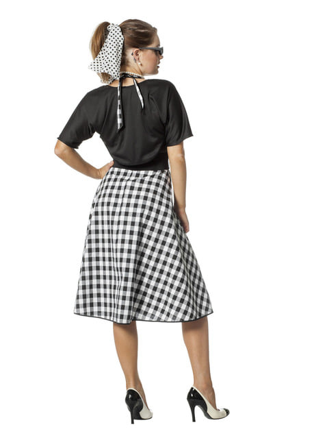 50's Rock & Roll costume for women