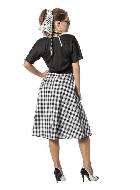 Disfraz de Rock & Roll años 50 para mujer - barato