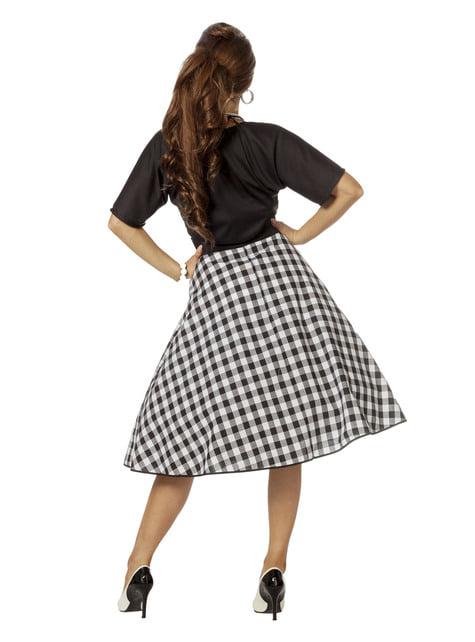 Disfraz de Rock & Roll años 50 para mujer - el más divertido