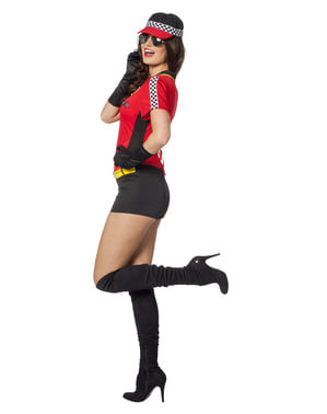 Race car driver costume for women