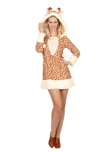 Giraffe costume for women