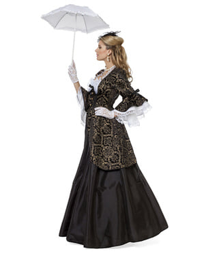 Dámsky kostým čierna markíza