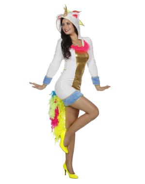 Enhjørninge kostume til kvinder