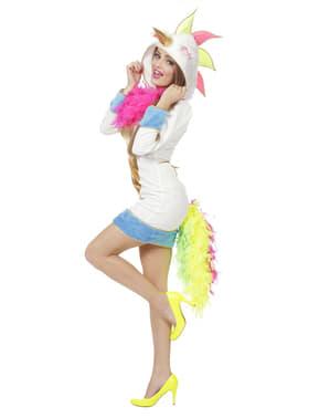 Eenhoorn kostuum voor vrouw