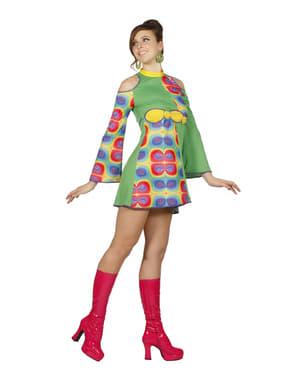 Kadınlar için Psychedelic 70'in kostümü