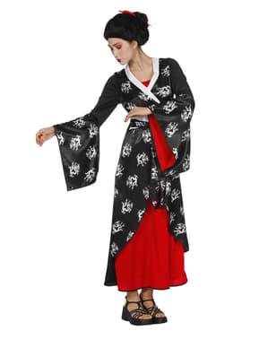 Disfraz de geisha elegante para mujer