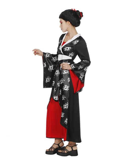 Elegancki kostium gejszy dla kobiet