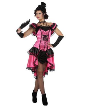 Can Can kostuum voor vrouw