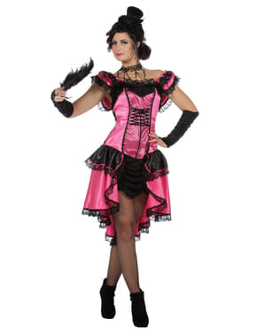 Can Can kostyme til dame