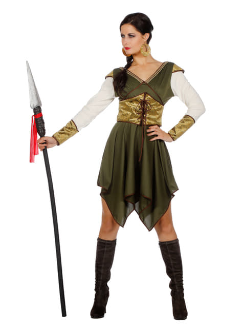 Castle guardian costume for women