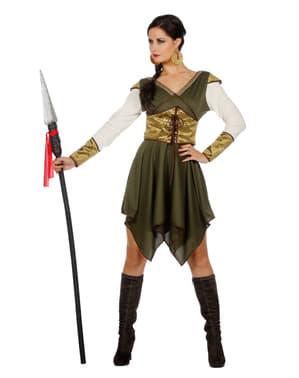 Kasteel bewaarder kostuum voor vrouw